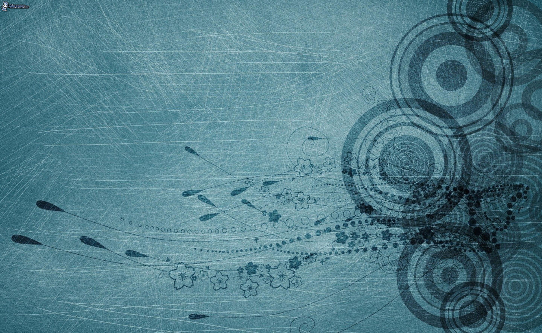 Fondo De Pantalla Abstracto Flores Y Circulos: Círculos Abstractos