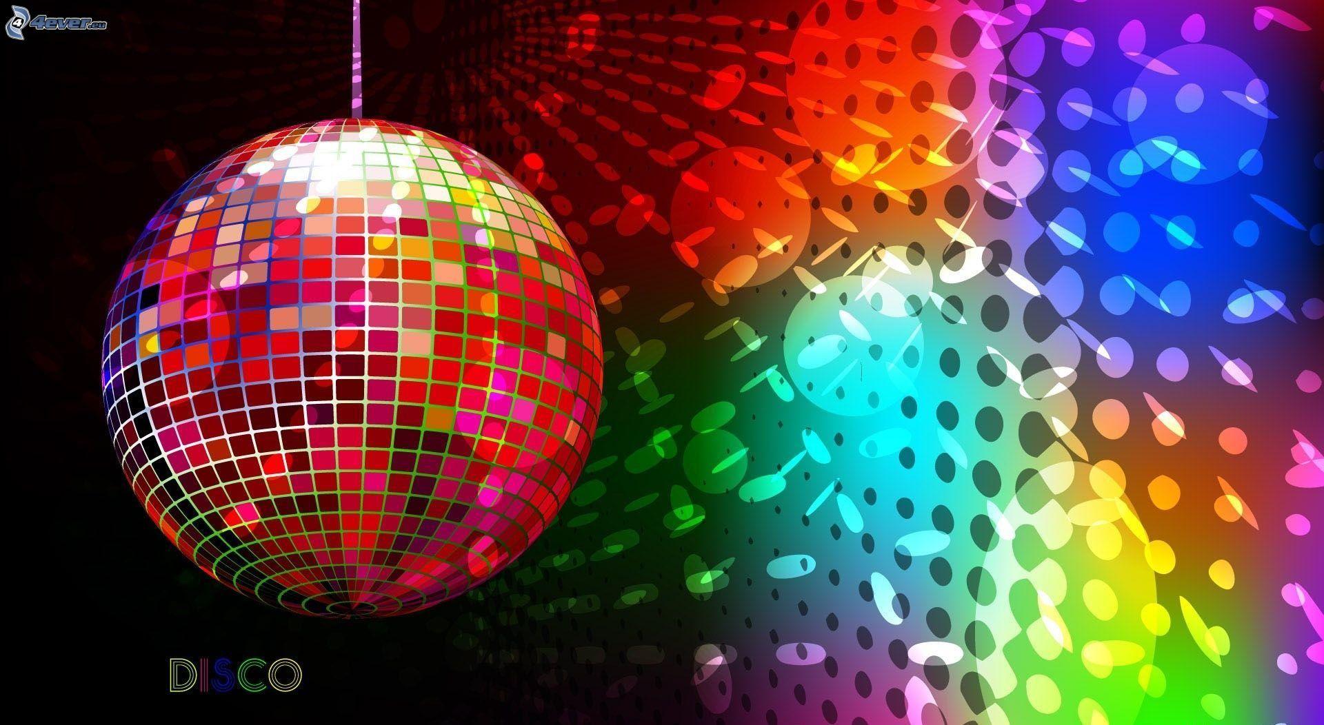 Bola de discoteca - Bola de discoteca de colores ...