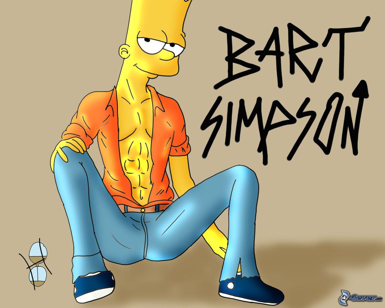 Симпсоны голие картинки барта 15 фотография