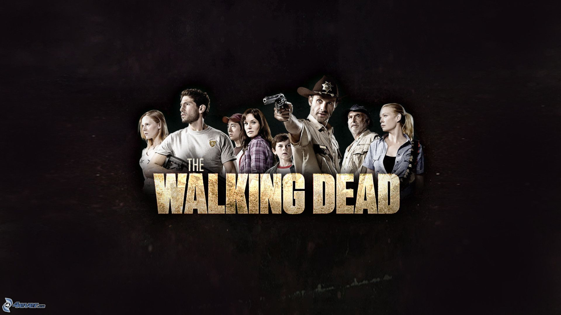 The Walking Dead Logo 2014 Fondo De Pantalla Fondos De: The Walking Dead