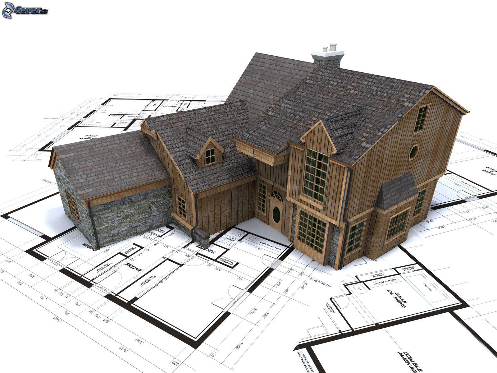 Casa de madera - Casas en miniatura de madera ...