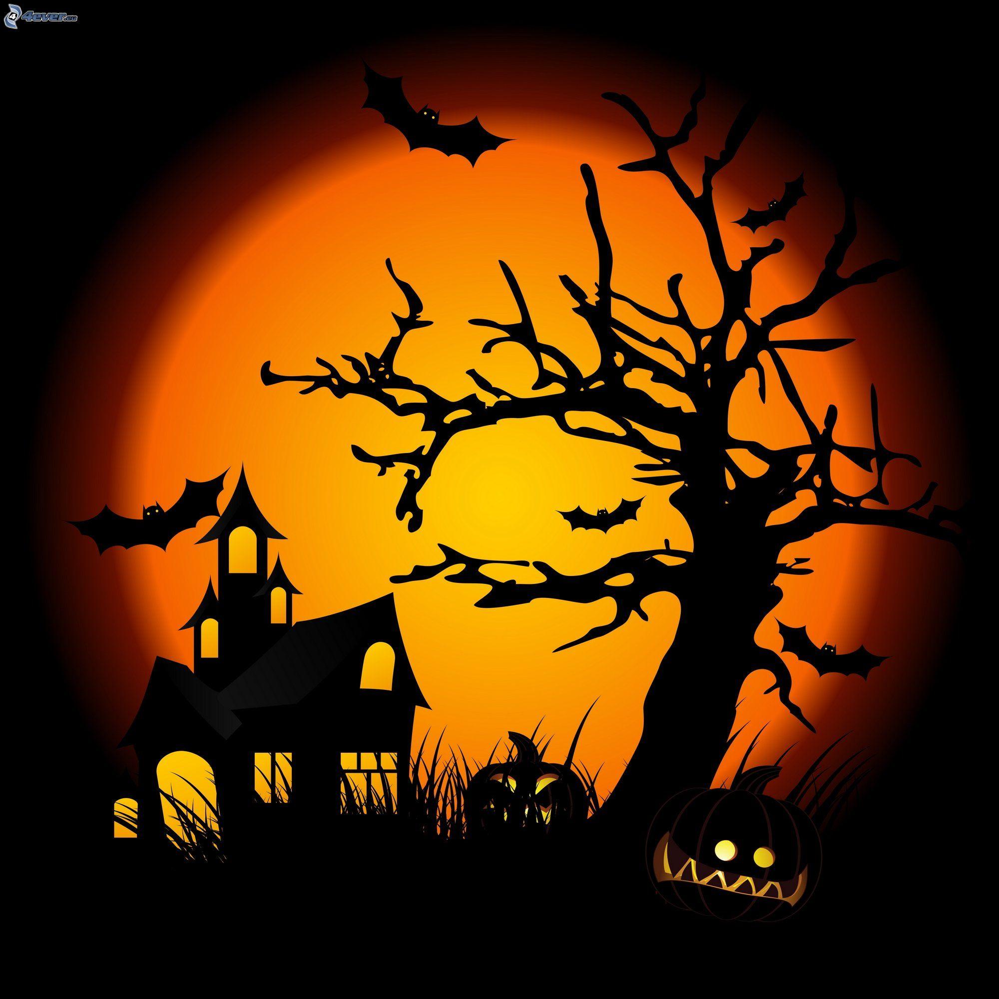 Casa de miedo - Calabazas de halloween de miedo ...