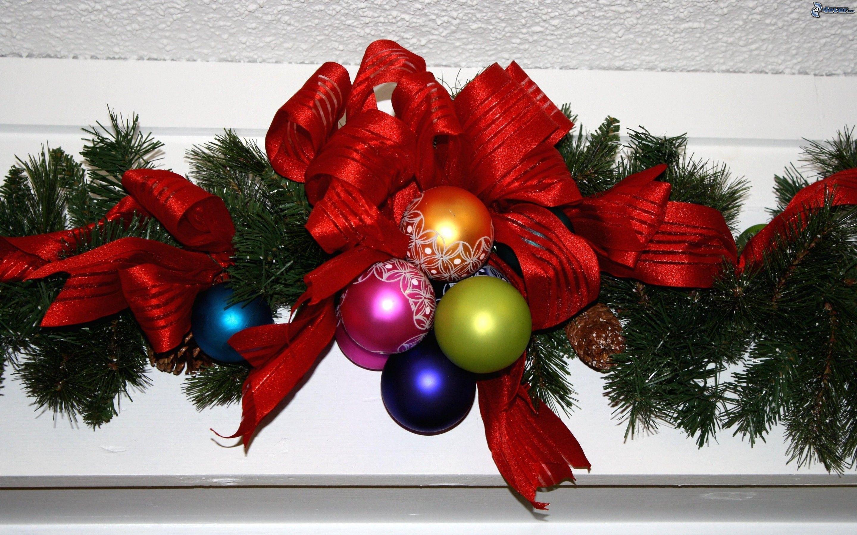 Decoraci n de navidad - Decoracion con bolas de navidad ...