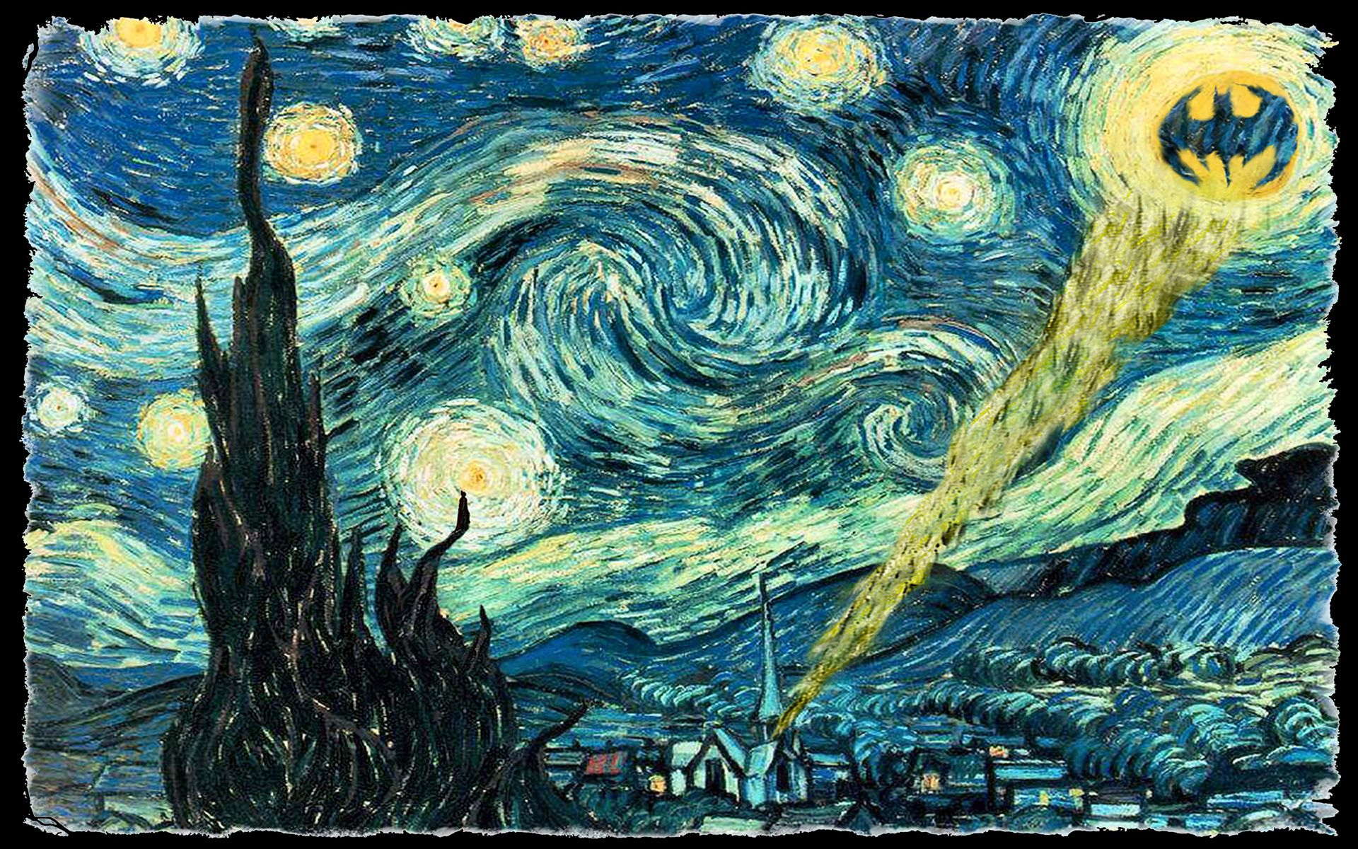 Vincent Van Gogh - La noche estrellada