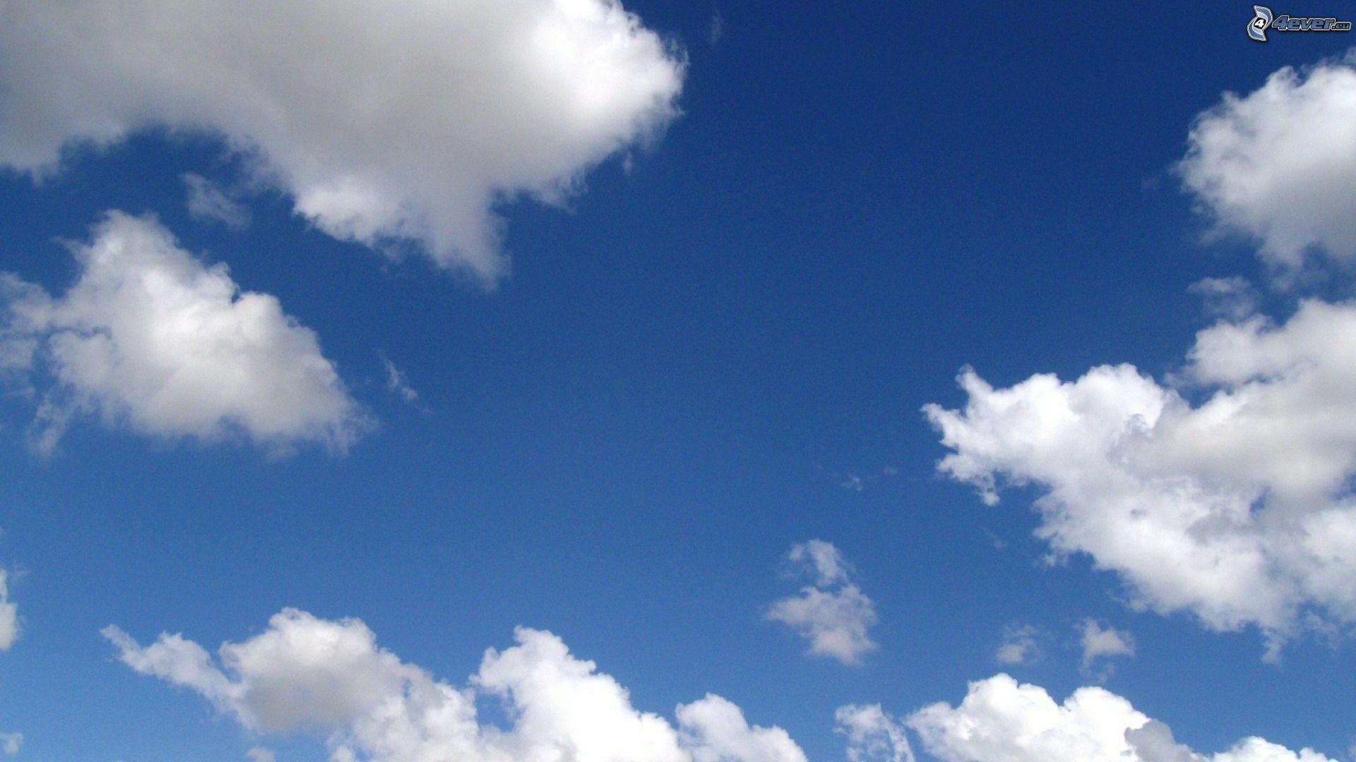Fotos E Imagenes Cielo Azul Con Nubes: Cielo Azul