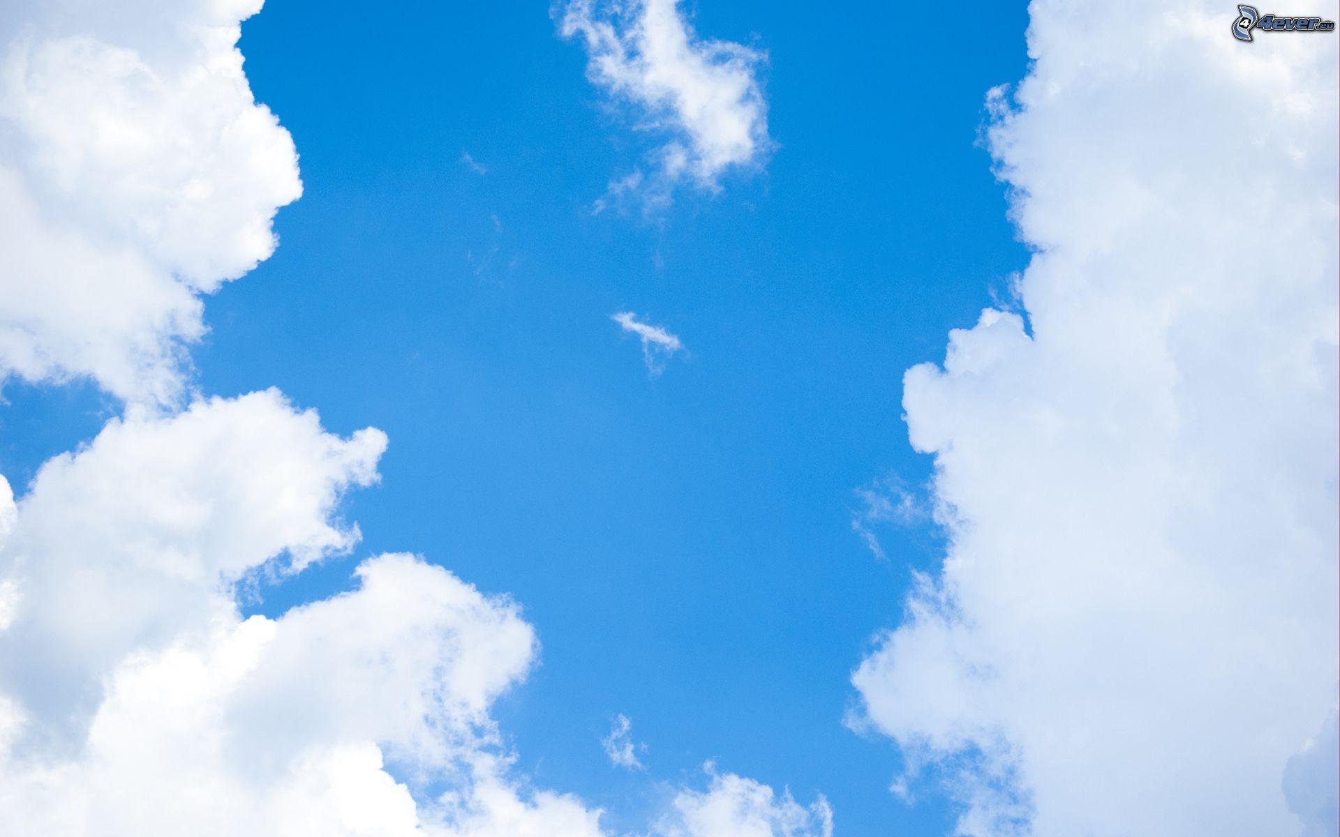 Fotos E Imagenes Cielo Azul Con Nubes: Nubes