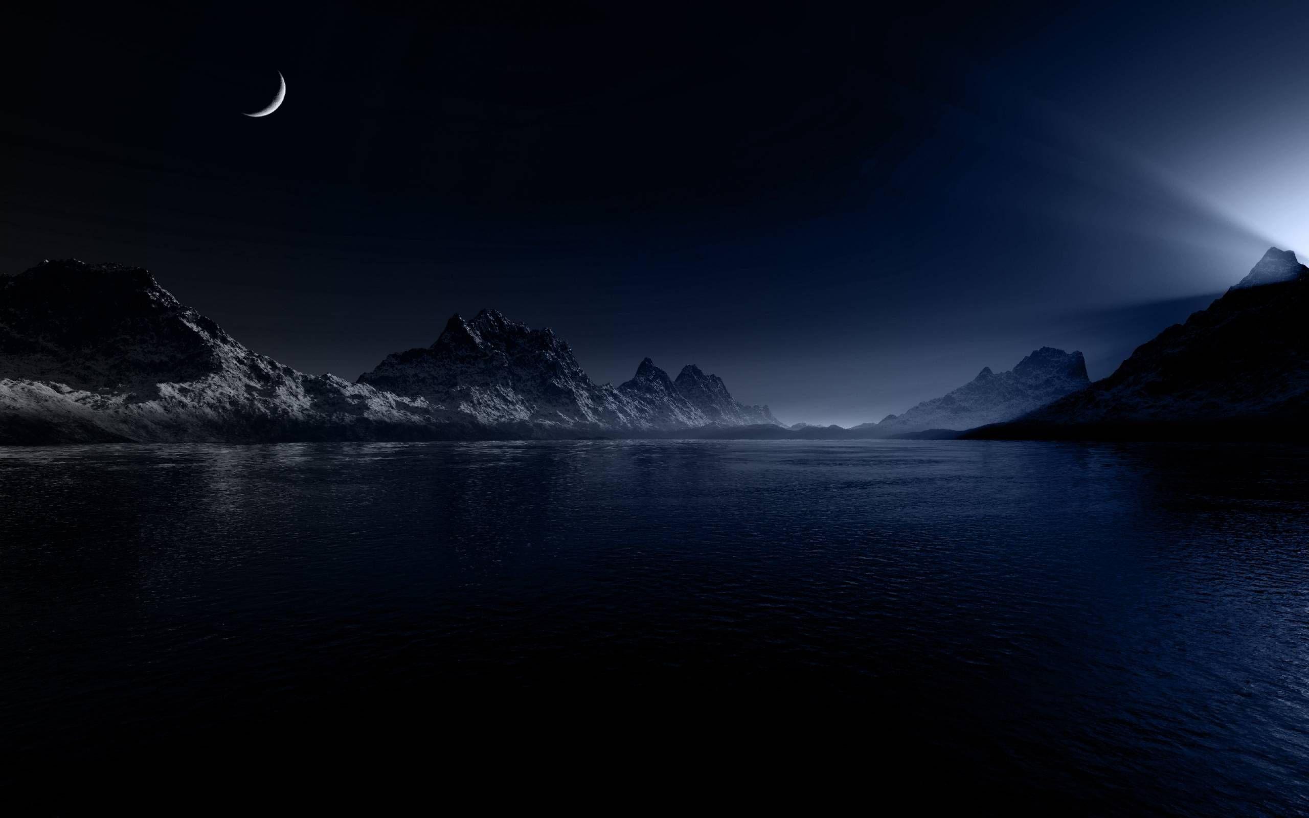 Lago Con Montañas Nevadas Hd: Mes