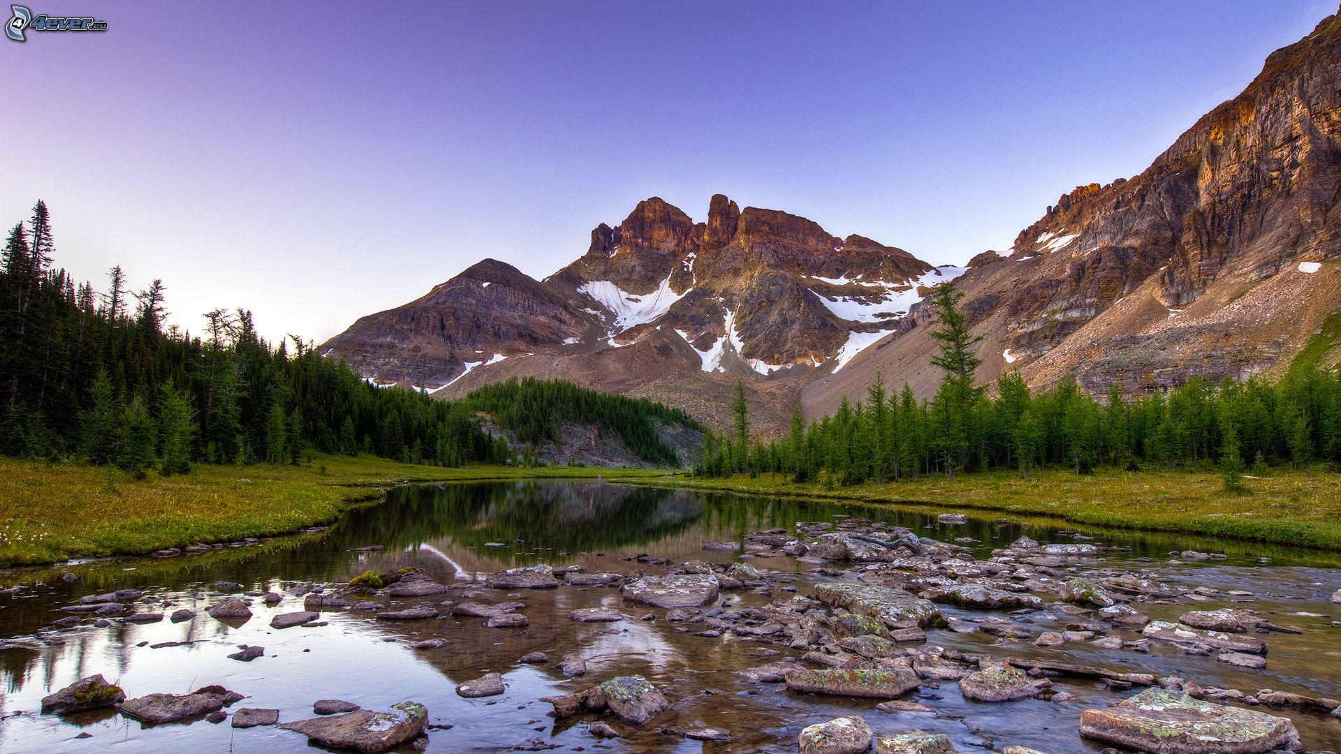 Montaña Nevada Hd: Corriente