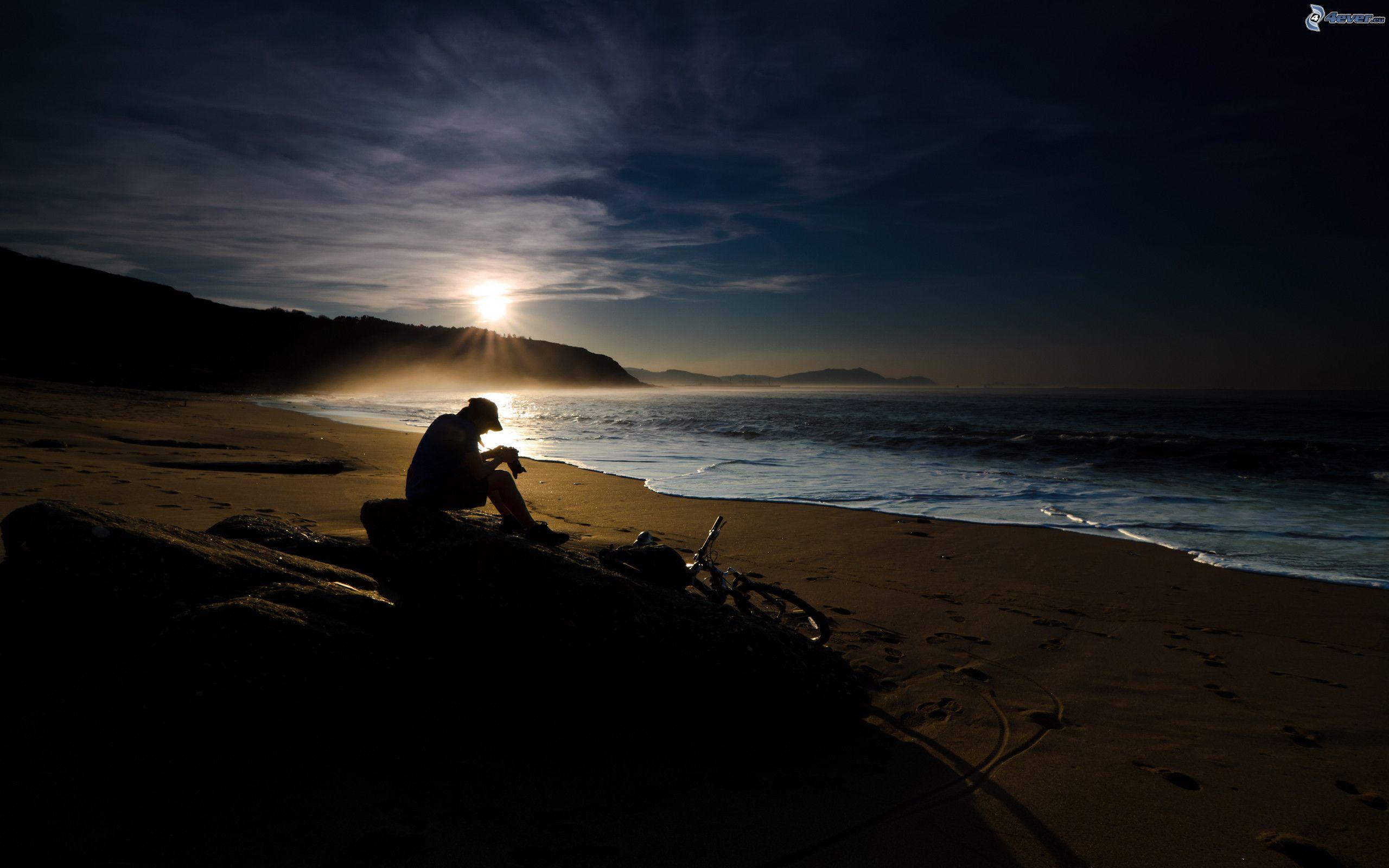 Fotos En La Playa Hombre: Hombre En La Playa