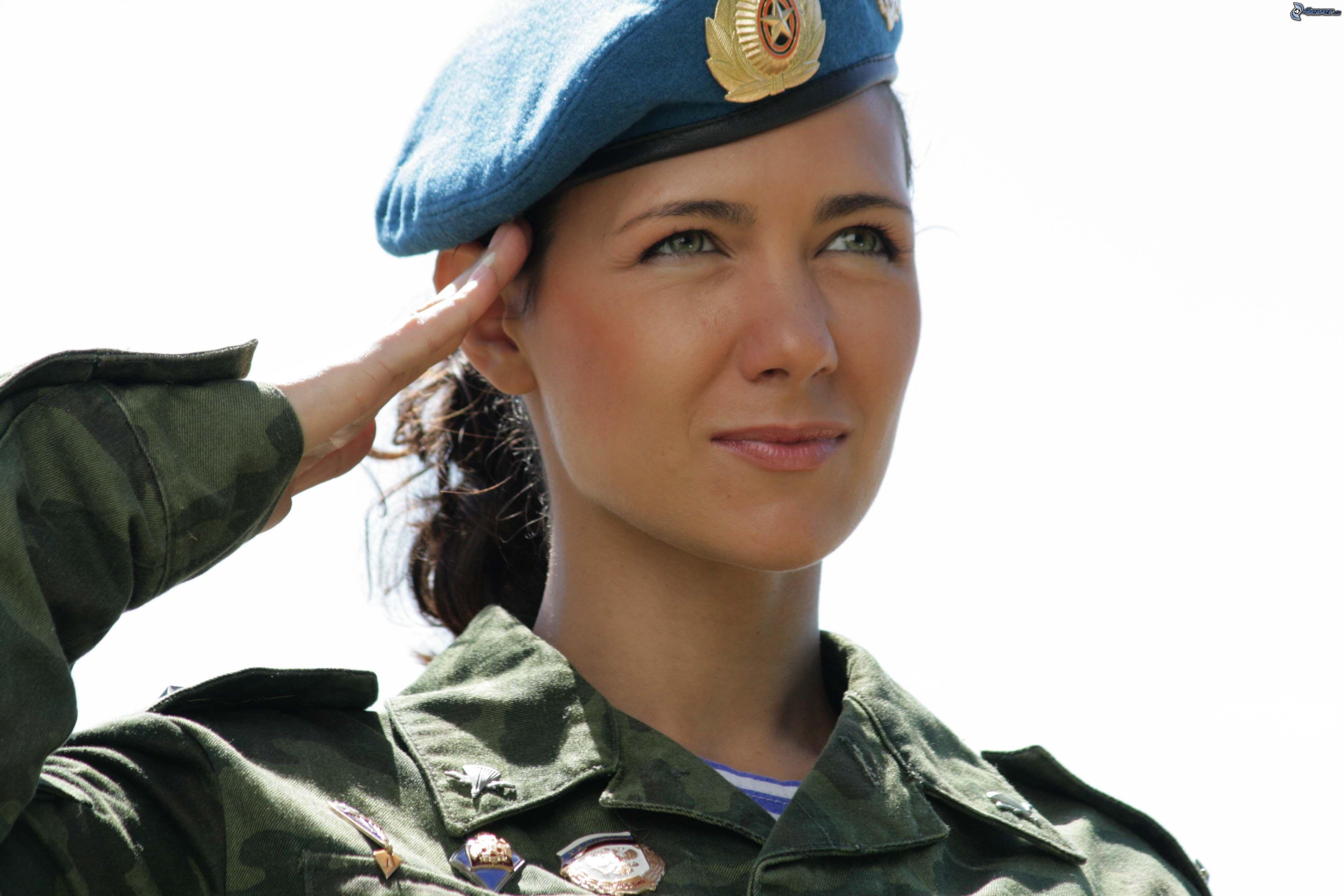 Russian Woman Soldier Latina Latina 71